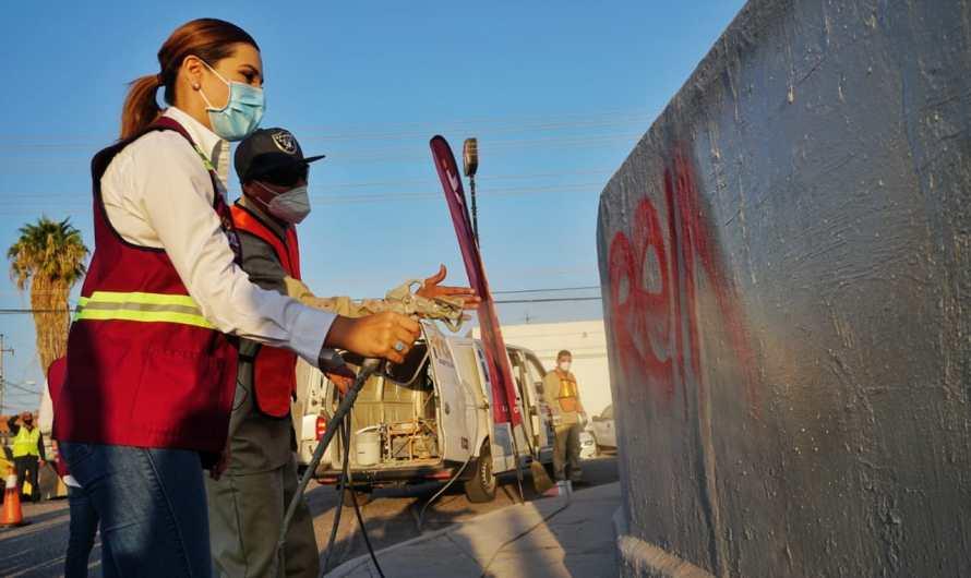 Limpian dren Mexicali Ayuntamiento, CESPM y Asociaciones Civiles: Es un foco de infección
