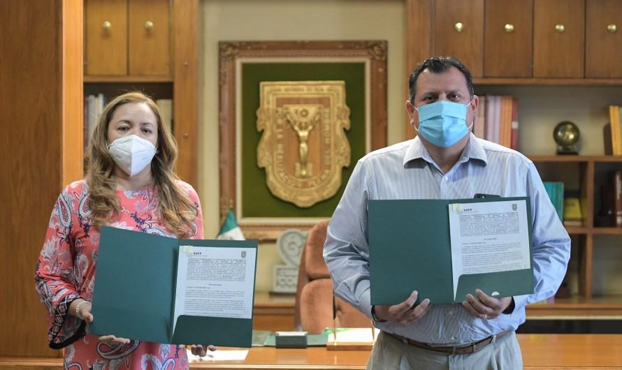 Firman convenio de colaboración UABC y Secretaría de Honestidad y Función Pública de Baja California