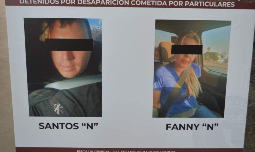 Two suspects arrested, allegedly involved in the disappearance  of American firefighter, Frank Aguilar, in Rosarito late August