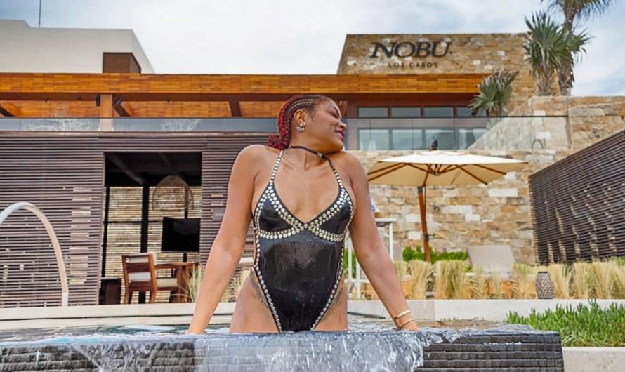 Actress Tara Henson, 49, posts a stunning picture of her last vacation at NOBU-Los Cabos