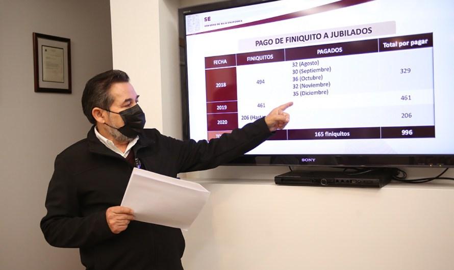 Los aguinaldos a maestros bajacalifornianos se pagarán entre el 18 y 22 de diciembre: Catalino Zavala