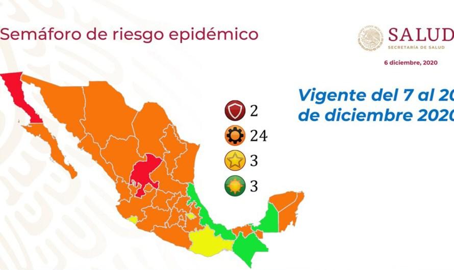 Vuelve semáforo rojo a Tijuana y Mexicali, necesario limitar movilidad y reforzar acciones contra COVID19