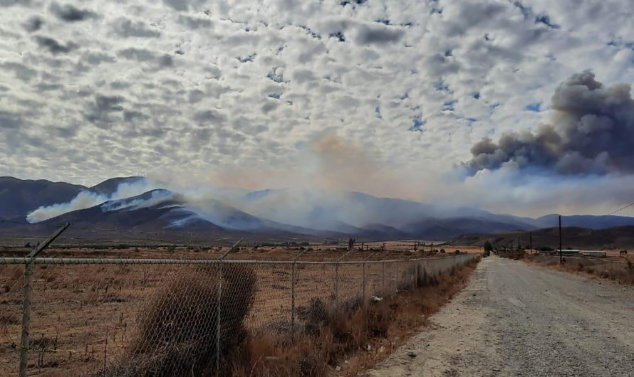 Federal, State and Defense personnel are working with local firefighters in Tecate and Tijuana forest fires