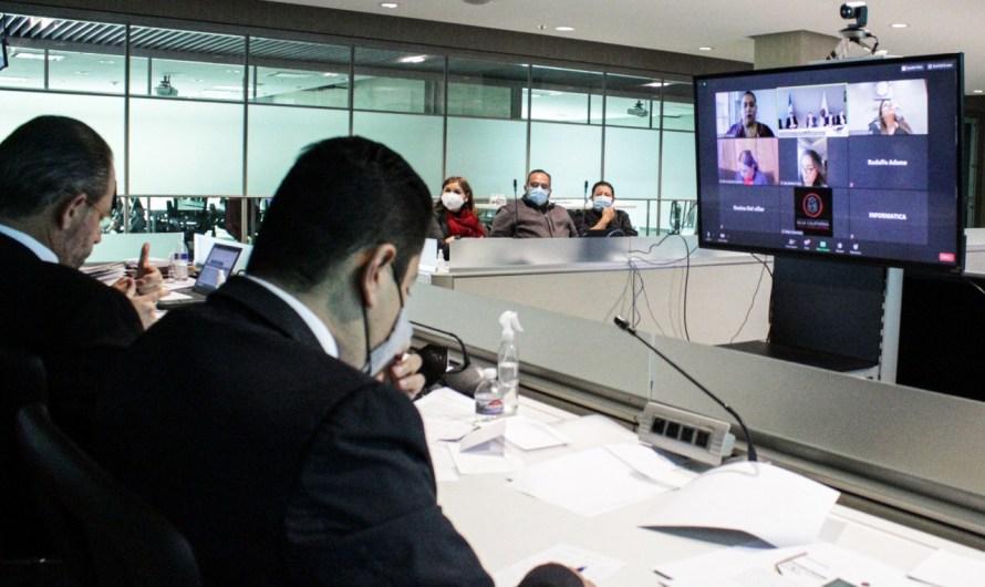 Solicita Fiscalía General del Estado presupuesto similar al de 2020 al Poder Legislativo