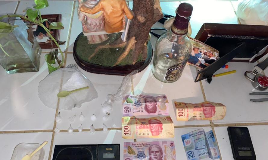 Presunto vendedor de droga detenido en Mexicali por la Fiscalía General del Estado