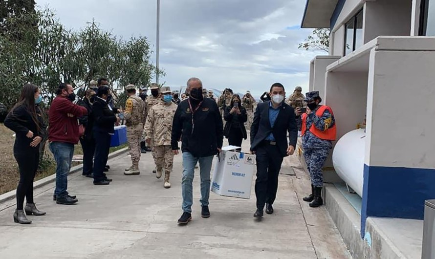 Llega a Baja California la segunda remesa de casi 3 mil dosis de vacuna contra el COVID-19