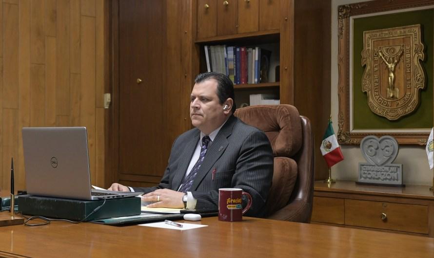 Rinde informe de gestión 2020 el Rector de la Universidad Autónoma de Baja California (UABC)