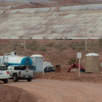 San Felipe gold mine access closed by landowners seeking to negotiate better rent for their land