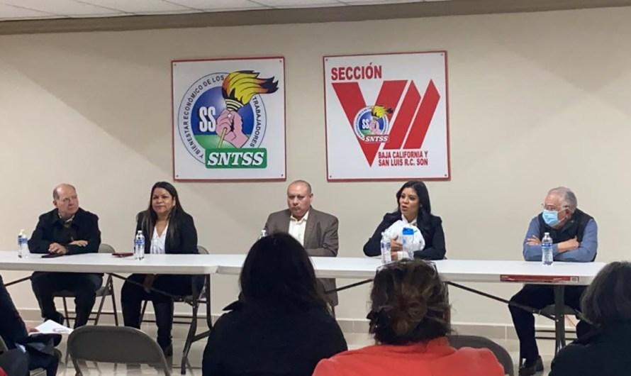 Reunión entre Diputada Montserrat Caballero y Sindicato de Trabajadores del Seguro Social