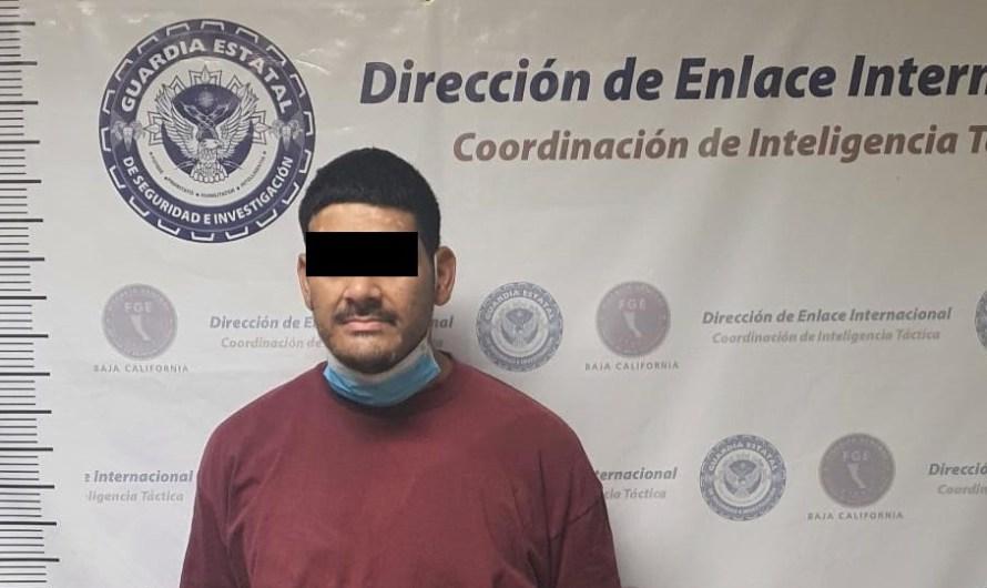 Fugitivo de Estados Unidos por tráfico de ICE, detenido en Mexicali por la FGE