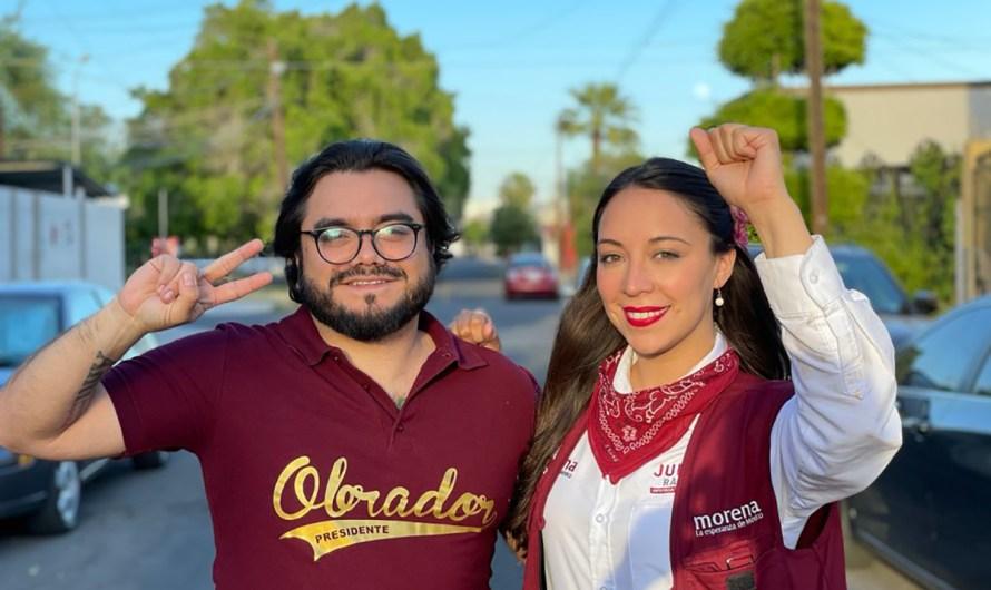 Respalda el Instituto de Formación Política de MORENA a Julieta Ramírez
