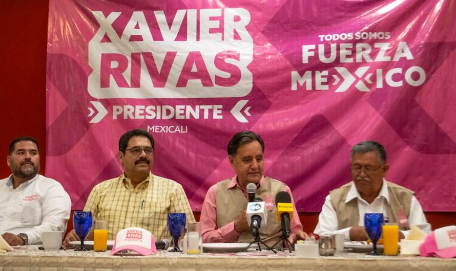 Xavier Rivas: Una vez más candidato a la Presidencia municipal de Mexicali, ahora con Fuerza Mexico