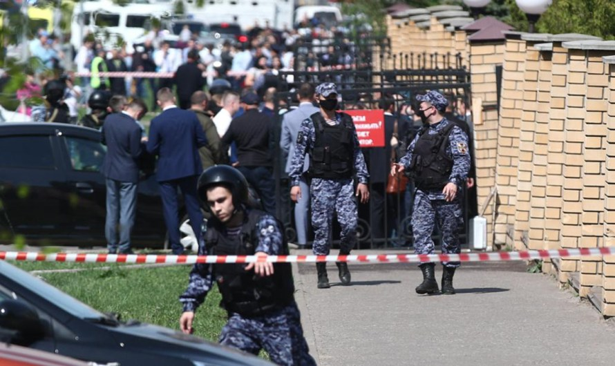 Shooting in a Russian school in the city of Kazan, first reports say 7 students are dead