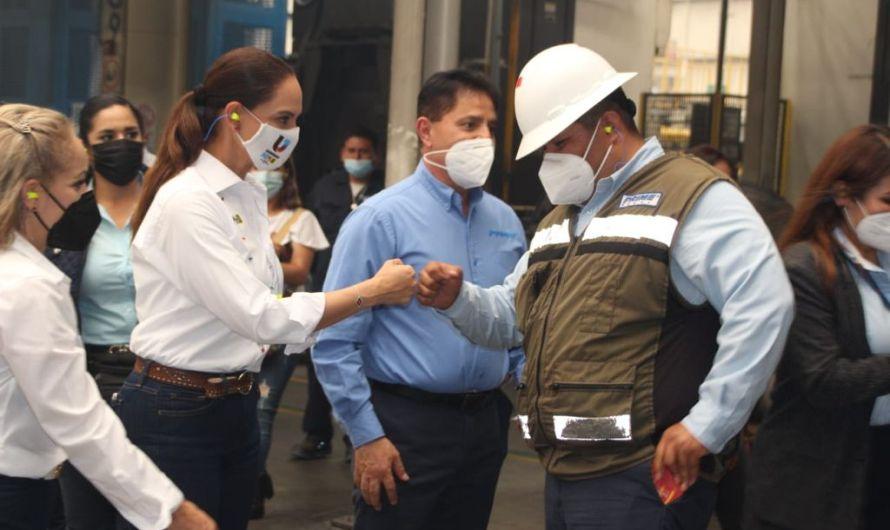 """""""Devolveré la certidumbre para atraer inversiones a Baja California"""": Lupita Jones"""
