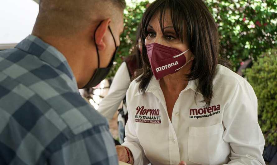 Promete atacar problema de adicciones Norma Bustamante si gana la alcaldía de Mexicali