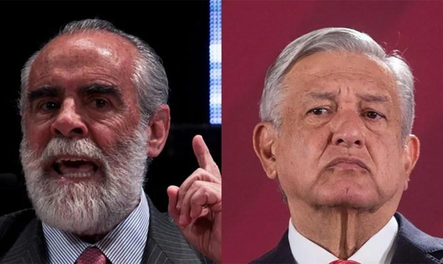 AMLO acusa sin presentar pruebas y Diego Fernández de Cevallos lo reta a un debate