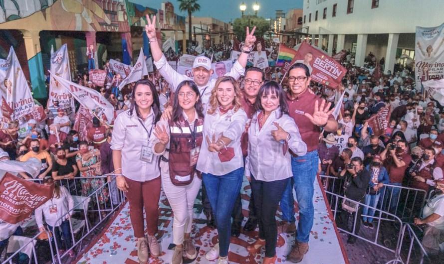 """Invita Marina del Pilar a mexicalenses a votar el Domingo, """"no nos podemos confiar"""", las encuestas no votan"""""""