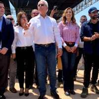 Inicia construcción de planta fotovoltaica, encabeza ceremonia Gobernador Jaime Bonilla