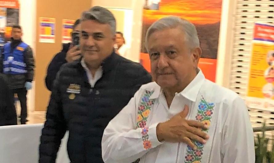 Informa el Super-delegado Ruiz Uribe la agenda preliminar de la visita de Lopez Obrador a Baja California