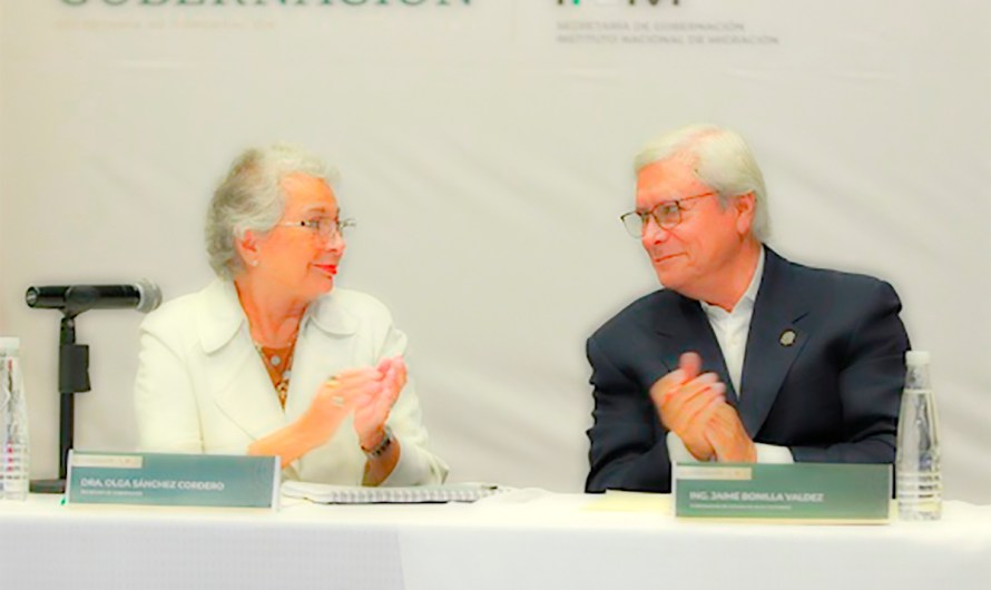 """There´s no migratory crisis in Tijuana, we're Immigrants sanctuary"": Governor Bonilla to Secretary Olga Sanchez C."