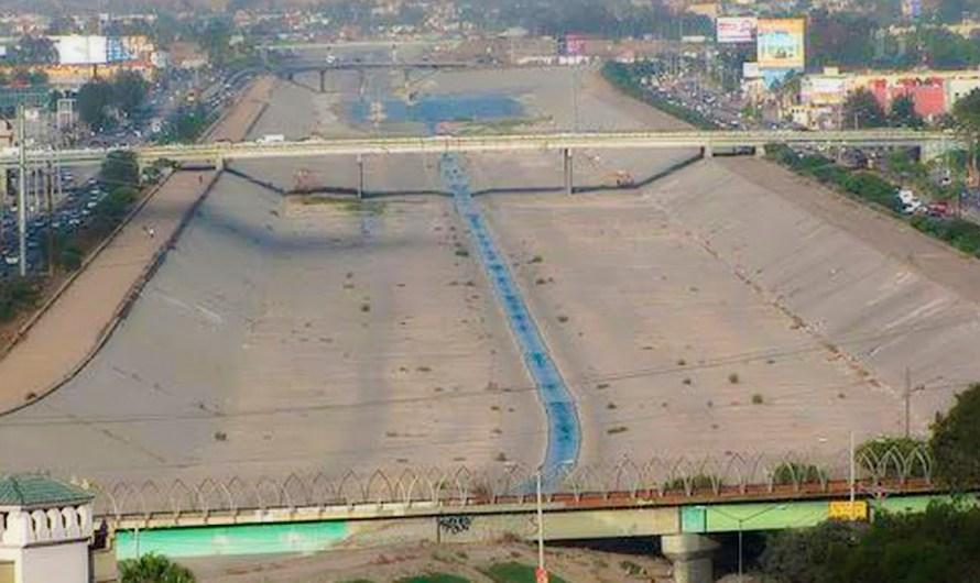 Anuncian proyecto de trabajo binacional México y Estados Unidos para saneamiento del Río Tijuana