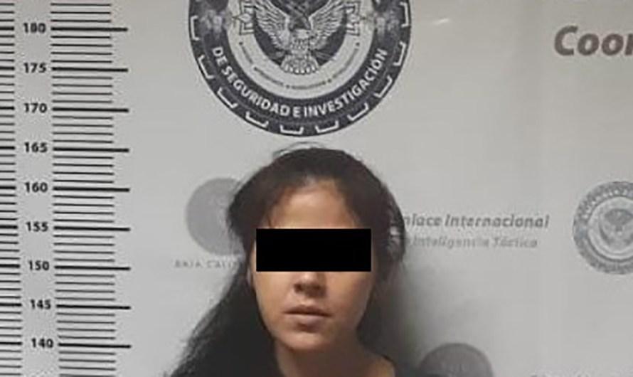 Guardia Estatal detiene en Mexicali a mujer con orden de arresto en Estados Unidos, en colaboración con US Marshals