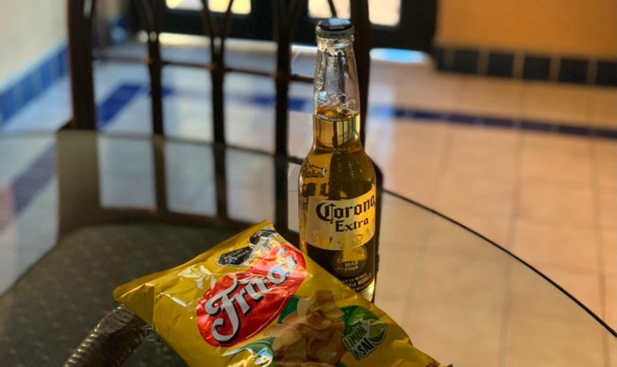 Lecciones de Baja…Una Semana de Lo Que Importa              Día 1: Fritos de sal y lima y cerveza fría