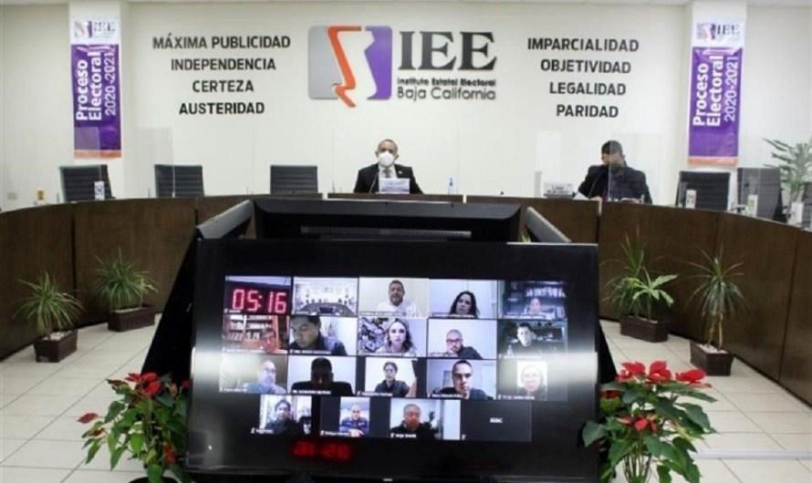 Desahogará Consejo General del IEE-BC solicitud de ampliación presupuestal por 16.6 millones de pesos