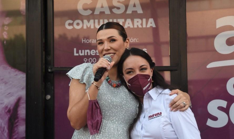 Inaugura Julieta Ramírez Casa Comunitaria con innovadores servicios