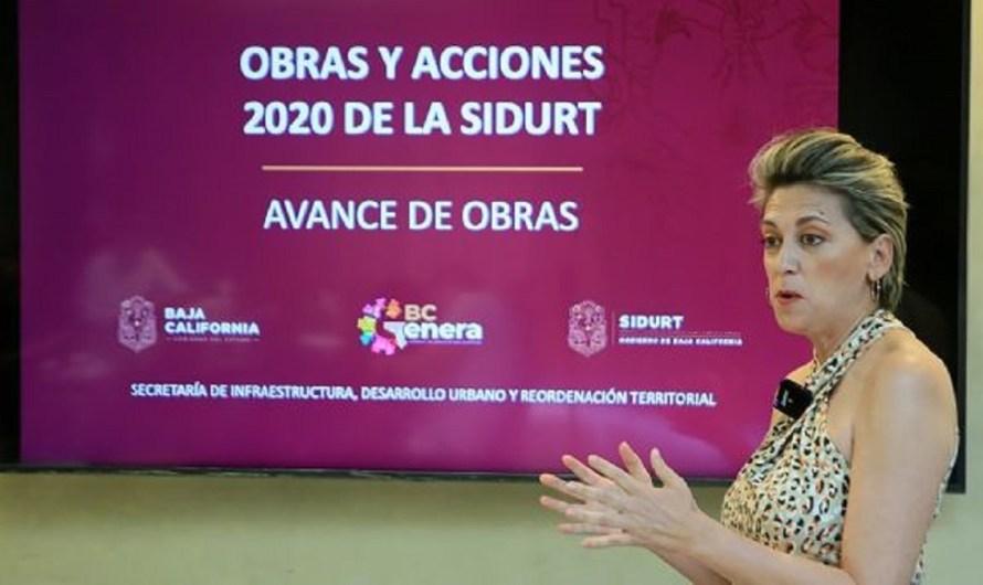 Comparece ante Diputados la Secretaria de Infraestructura y Desarrollo Urbano de BC; Karen Postlethwaitte Montijo