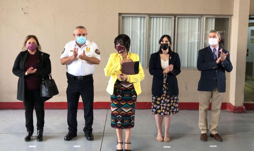 Compromisos pendientes con bomberos de Mexicali, tema de alta prioridad para la alcaldesa Norma Bustamante