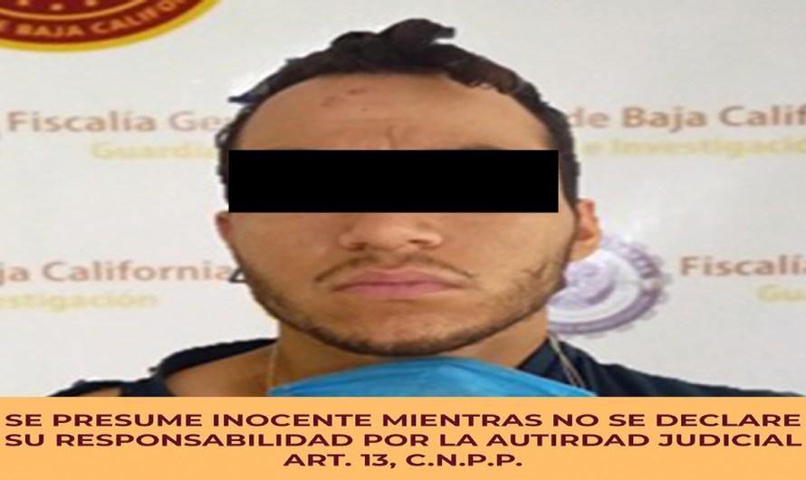 Detiene FGE a presunto homicida que apuñaló a un hombre en poblado Guadalupe Victoria en Valle de Mexicali