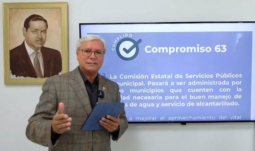 Municipalizar comisiones del agua debilita finanzas de los municipios: Comision Internacional de Límites y Aguas