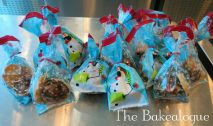 All goodies baked by kids packed and ready to be taken home by them...