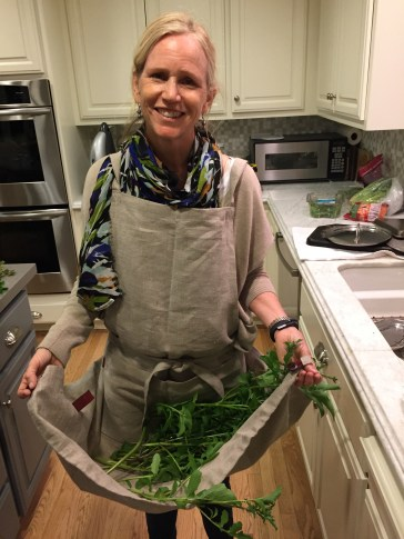 cindy with harvest
