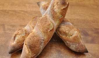 Rustic French Bread made with Levain
