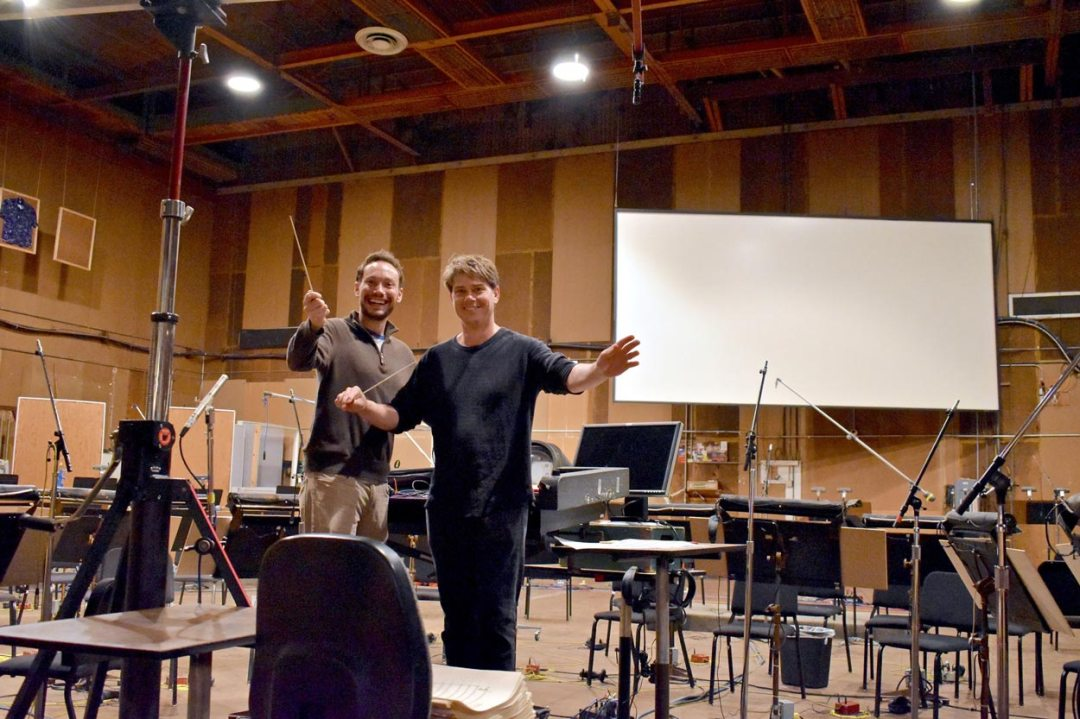 Bakery Mastering | Eric and David Boucher at the Sony Scoring Stage