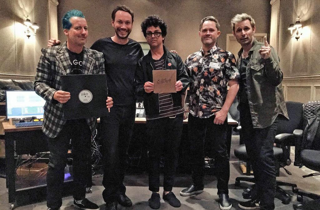 Audio Mastering Facility The Bakery Congratulates Green Day on Its Third Number-One Album, Revolution Radio | MixOnline.com