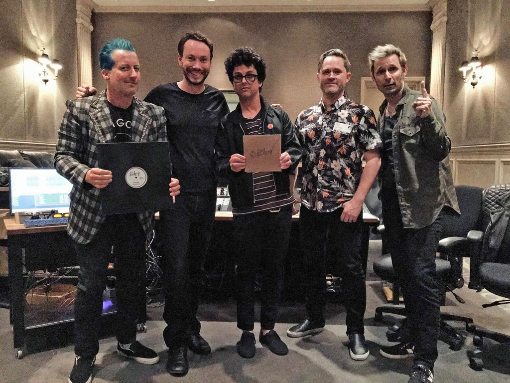 Green Day at The Bakery | Bakery Mastering Studio