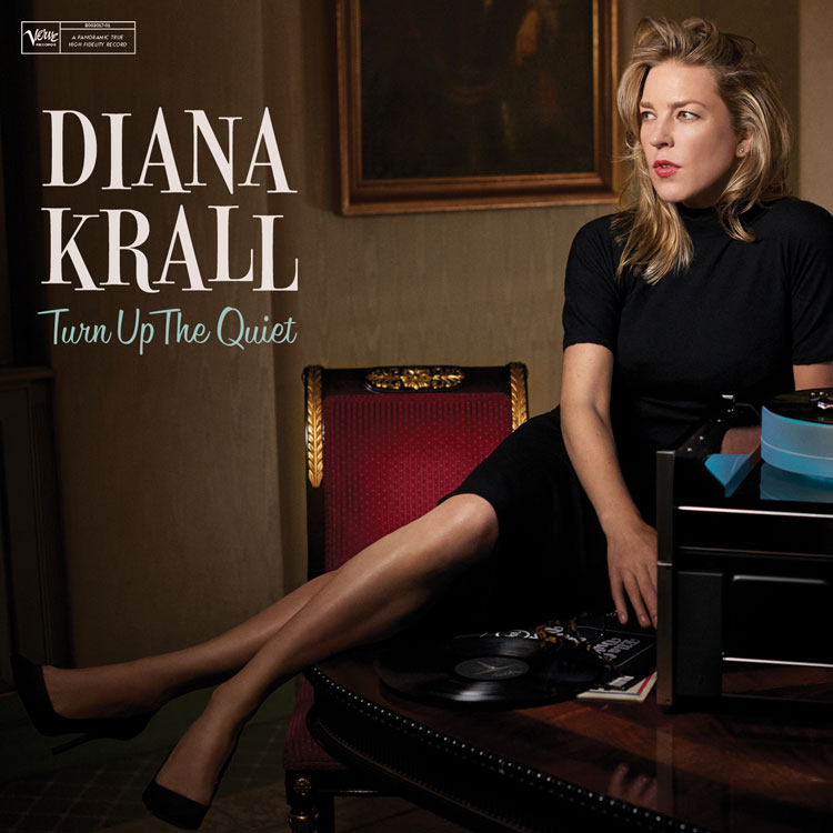 Diana Krall | Turn Up the Quiet | Bakery Mastering