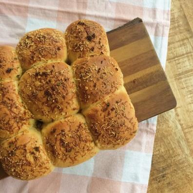 Vers gebakken broodjes