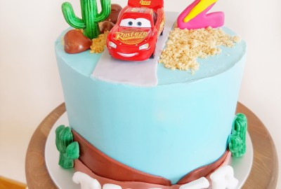 The Baking Experiment Cars Cake