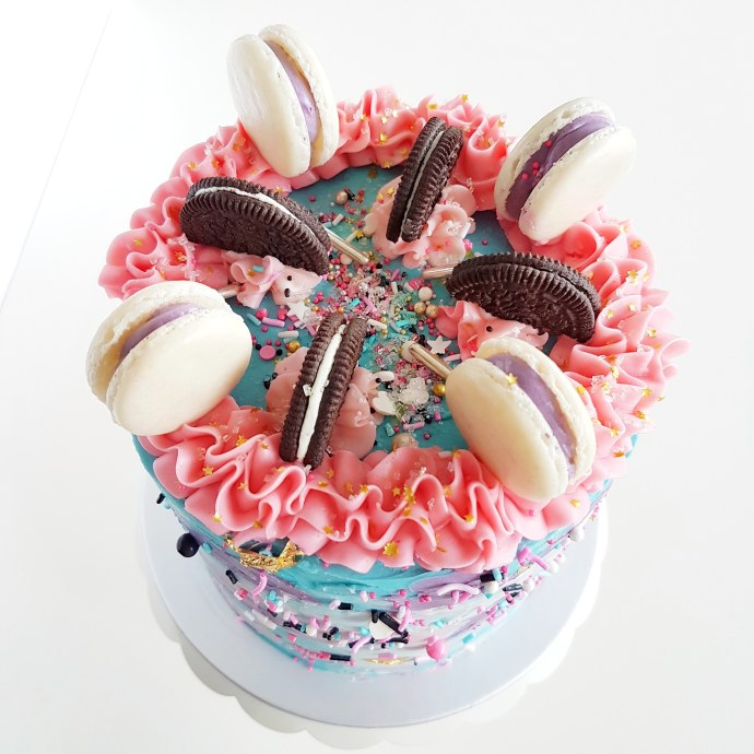The Baking Experiment Macaron Cake