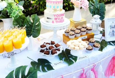 Boho Wild and Chic Dessert Table by The Baking Experiment