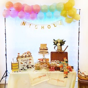 Old School Retro Dessert Table by The Baking Experiment