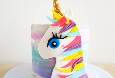 Unicorn Cake by The Baking Experiment