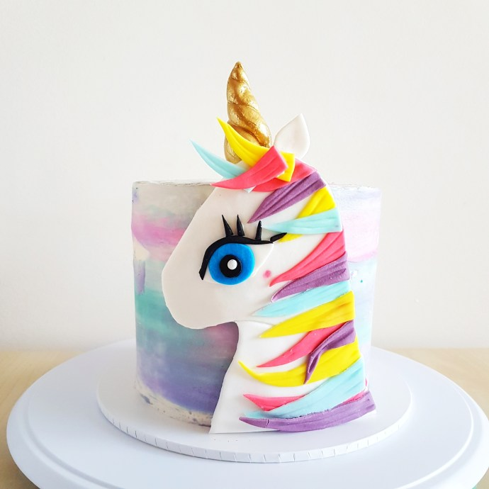 Unicorn Cake by The Baking Experiment