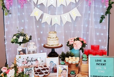 Tiffany Blue Wedding Dessert Table by The Baking Experiment