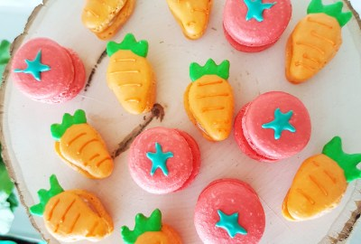 Peter Rabbit Vegetable Macarons By The Baking Experiment