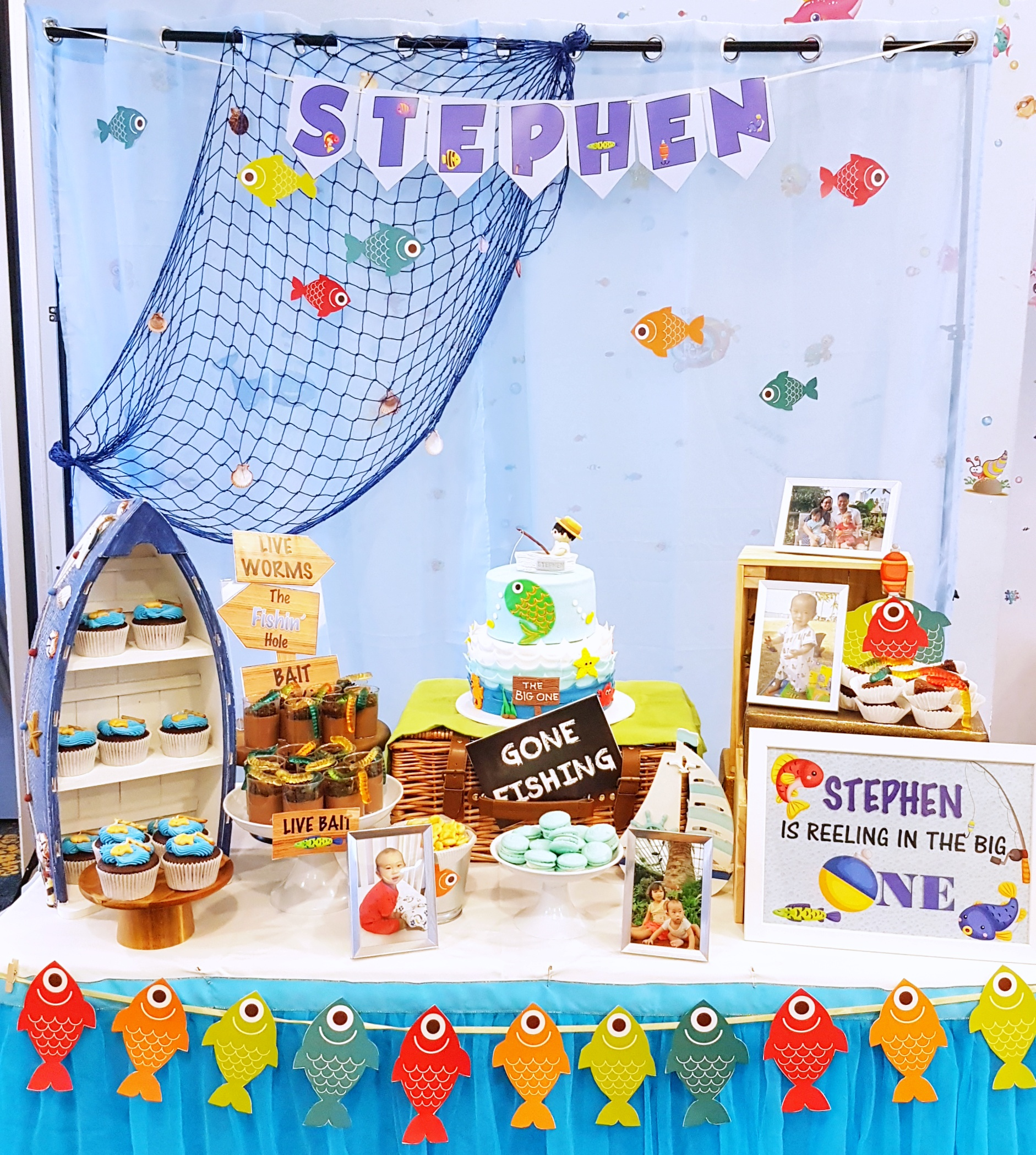 Fisherman Dessert Table by The Baking Experiment